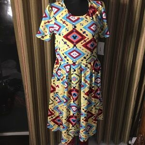Lularoe Amelia Minnie Mouse dress